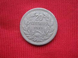 Chile 20 Centavos 1925 - Chile