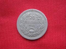 Chile 20 Centavos 1932 - Chile