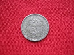 Chile 20 Centavos 1933 - Chile