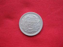 Chile 20 Centavos 1940 - Chile