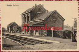 Jabbeke De Statie Het Station La Gare (In Zeer Goede Staat) - Jabbeke