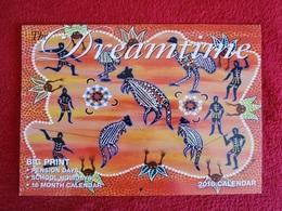 Calendrier Australie Motifs Aborigenes - Calendars