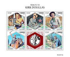 Sierra Leone 2020  Kirk Douglas,actor ,director  S202003 - Sierra Leone (1961-...)