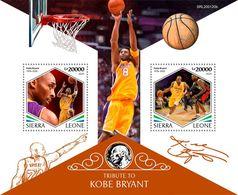 Sierra Leone 2020 Kobe Bryant, Basketball    S202003 - Sierra Leone (1961-...)