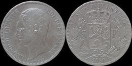 Belgium Leopold I 5 Frank 1850 - 1831-1865: Leopold I