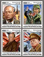 Central Africa 2020 Winston Churchill ,Queen Elizabeth II S202003 - Central African Republic
