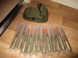 LOT DE 12 BALLES PERCER - Armi Da Collezione