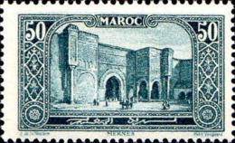 Maroc (Prot.Fr) Poste N** Yv:112 Mi:64 Meknes Bab-el-Mansour - Morocco (1891-1956)