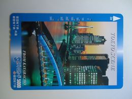 JAPAN OTHERS CARDS TICKET TICKETS TRAINS BUS TRAM  METRO GIFT TOKYO SCENE - Japón