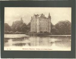 53 Martigné Sur Mayenne Château De La Motte Husson édit. Bigot - Frankreich