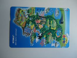 JAPAN OTHERS CARDS TICKET TICKETS TRAINS BUS TRAM  METRO GIFT COMICS CHILDREN - Japón