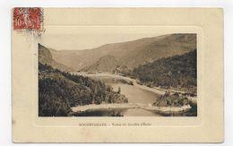 (RECTO / VERSO) ROCHETAILLEE EN 1909 - VALLEE DU GOUFFRE D' ENFER - BEAU CACHET - CPA VOYAGEE - Rochetaillee