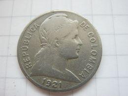 Colombia , 2 Centavos 1921 - Colombia