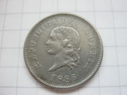 Colombia , 5 Centavos 1886 - Colombia