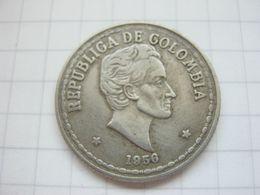 Colombia , 20 Centavos 1956 - Colombia