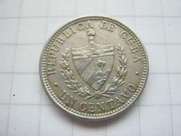 Cuba , 1 Centavo 1916 - Cuba
