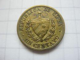 Cuba , 1 Centavo 1943 - Cuba