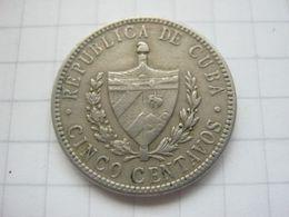 Cuba , 5 Centavos 1920 - Cuba