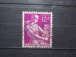 """VEND BEAU TIMBRE DE FRANCE N° 1116 , OBLITERATION """" CAGNES-SUR-MER """" !!! - 1957-59 Moissonneuse"""