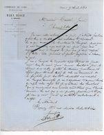 21 - Côte-d'or - DIJON - Facture BLOCH - Commerce De Cuirs - 1881 - REF 294 - France