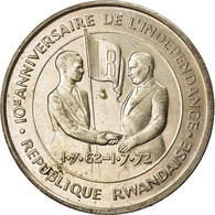 Monnaie, Rwanda, 200 Francs, 1972, SUP, Argent, KM:11 - Rwanda
