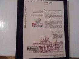 FRANCE DOCUMENT 21 12 542 MOULINS (ALLIER) - Documenti Della Posta