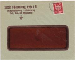 Perfin: Brief Aus Lahr, Moritz Schaunenburg, 1925 - Non Classés