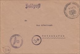 Feldpost II. Weltkrieg: 1944 Von Neustadt/Westpreussen Nach Gotenhafen - Occupazione 1938 – 45