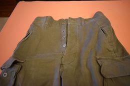 PANTALON TREILLIS TTA 47,BOUTONS METALLIQUES - Uniforms