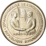 Monnaie, Rwanda, 200 Francs, 1972, SPL, Argent, KM:11 - Rwanda