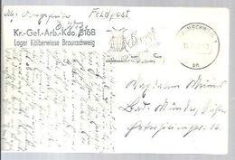 FELDPOST 1942 BRAUNSCHWEIG - Lettres & Documents