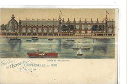 EXPOSITION 1900   PARIS  PALAIS DE  HORTICULTURE SOUVENIR - Tentoonstellingen