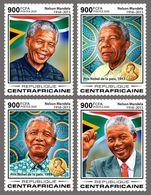 Central Africa 2020 Nelson Mandela ; Nobel Peace Prize  S202003 - Central African Republic