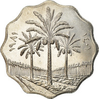 Monnaie, Iraq, 10 Fils, 1981, SPL, Stainless Steel, KM:126a - Irak