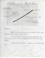 25 - Doubs - LAISSEY - Facture BOST - Outillage Pour Toutes Industries - 1929 - REF 294 - France