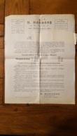 H. MAHAGNE A NOGARO GERS ENVOI PUBLICITAIRE PAR POSTE AVEC BANDEAU AFFRANCHISSEMENT - 1900 – 1949