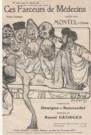 (POUSTHOMIS )ces Farceurs De Médecins , MONTEL , Paroles DEMIGNE & BONNARDEL , Musique R GEORGES - Scores & Partitions
