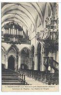 CPA Badricourt Interieur De L'église La Chaire Et L'orgue Près Dannemarie - France
