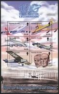Salomoninseln 2003 - Mi-Nr. 1126-1131 ** - MNH - Flugzeuge / Airplanes - Solomon Islands (1978-...)