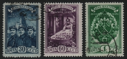 Russia / Sowjetunion 1948 - Mi-Nr. 1236-1238 Gest / Used - Bergarbeiter - 1923-1991 URSS