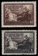 Russia / Sowjetunion 1949 - Mi-Nr. 1381-1382 ** - MNH - I. Pawalow - 1923-1991 URSS