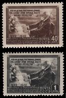 Russia / Sowjetunion 1949 - Mi-Nr. 1381-1382 ** - MNH - I. Pawalow - 1923-1991 USSR