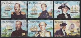 Kiribati 2002 - Mi-Nr. 871-876 ** - MNH - Schiffe / Ships - Kiribati (1979-...)