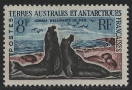 TAAF 1962 - Mi-Nr. 25 ** - MNH - See-Elefant / Sea Elephant - Unused Stamps