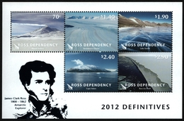 Ross-Gebiet 2012 - Mi-Nr. Block 8 ** - MNH - Landschaften & Natur - Nuevos