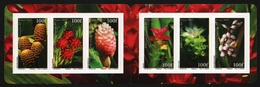 Franz. Polynesien 2012 - Mi-Nr. 1182-1187 ** - MNH - Heftchen - Blumen / Flowers - Carnets