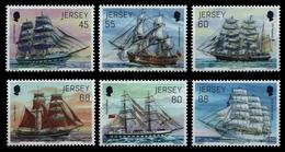 Jersey 2013 - Mi-Nr. 1751-1756 ** - MNH - Schiffe / Ships - Jersey