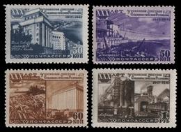 Russia / Sowjetunion 1948 - Mi-Nr. 1186-1189 ** - MNH - Ukrainische SSR - Nuevos