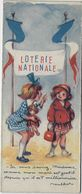 - MARQUE PAGE - ILLUSTRATEUR - PUBLICITE - FACE POULBOT LOTERIE NATIONALE - FACE RENE VINCENT CELTIQUE - - Bookmarks