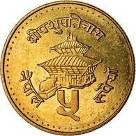 Monnaie, Népal, SHAH DYNASTY, Birendra Bir Bikram, 5 Rupee, 1996, Kathmandu - Nepal